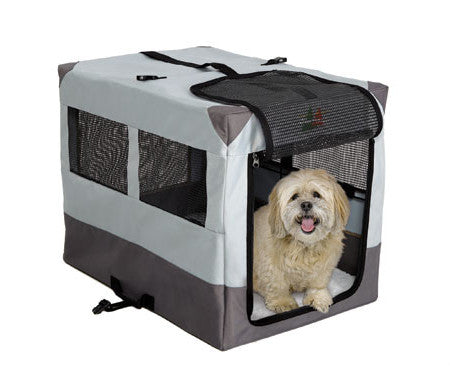 Canine Camper Sportable Dog Crate for Traveling by Midwest