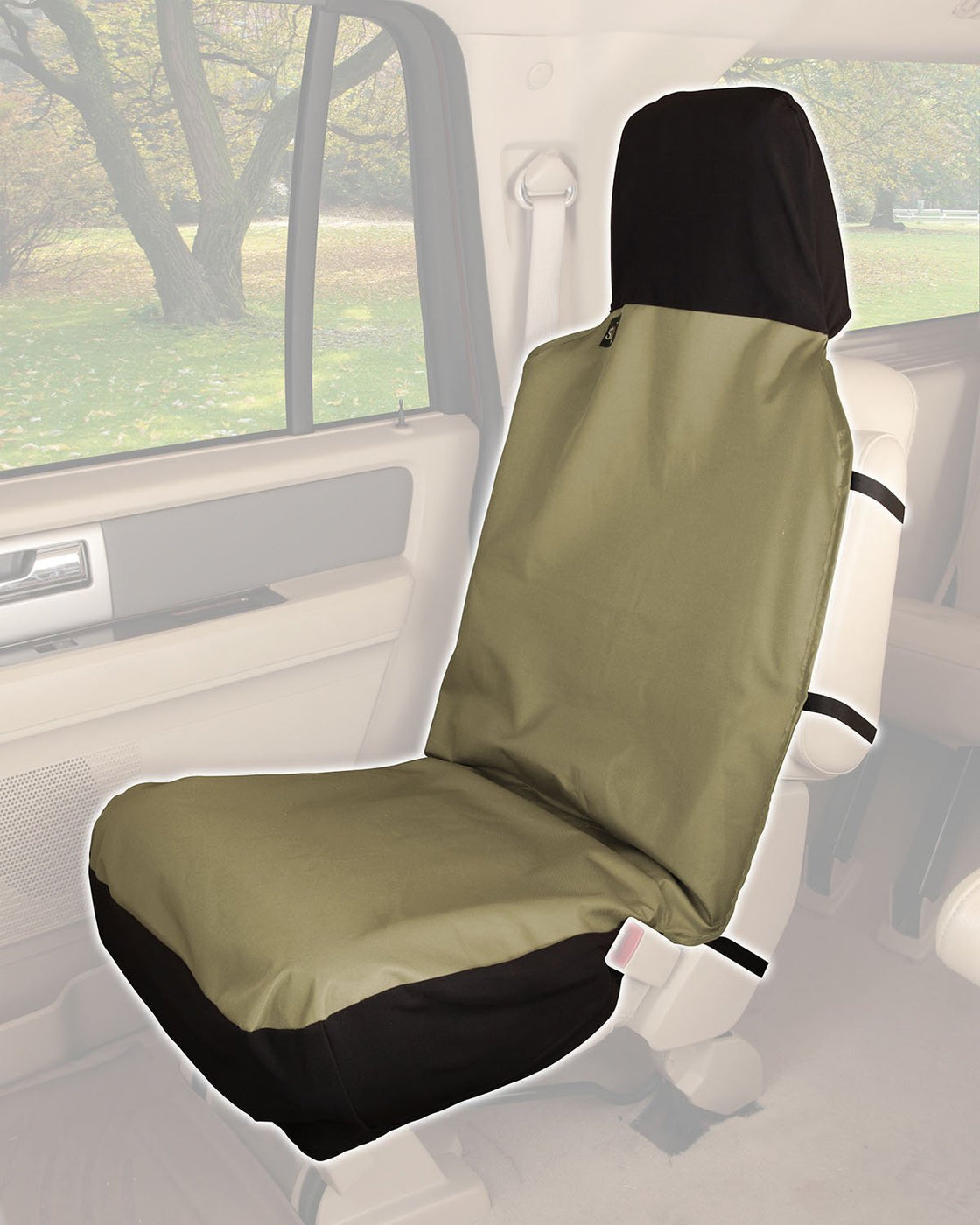 Solvit Waterproof Sta Put Bucket Seat Cover For Pets