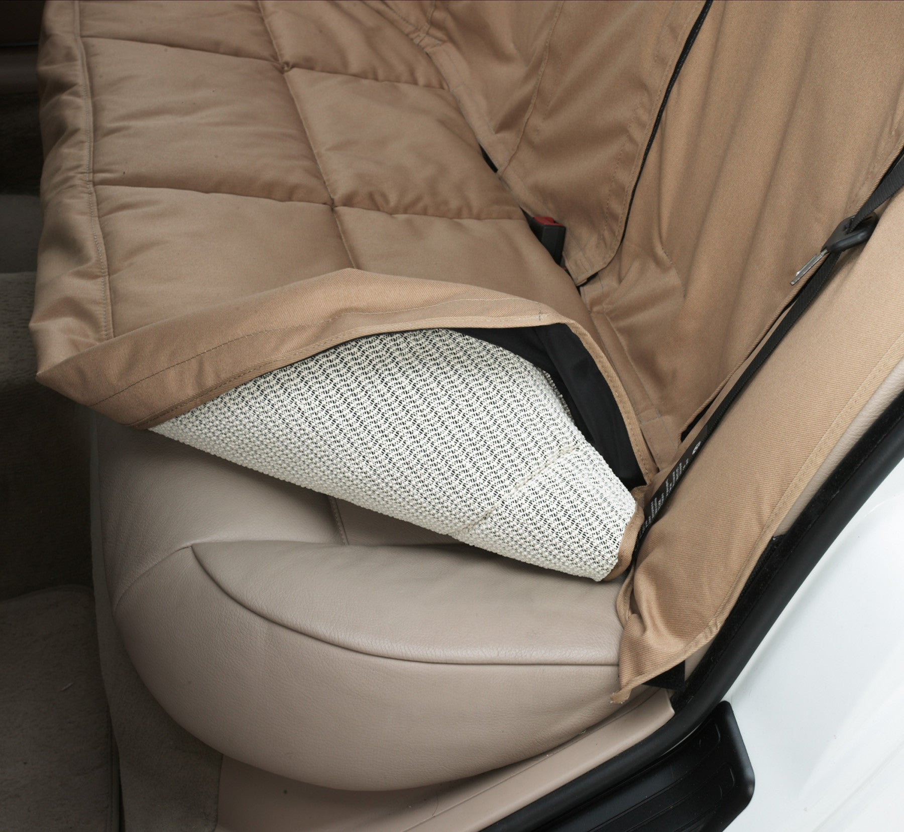 Covercraft Canine Covers Custom Rear Seat Cover Dog Non Slip Liner