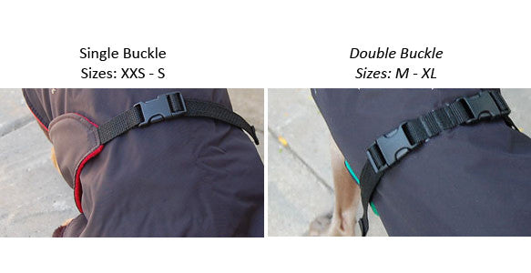 Great White North Dog Coat Buckle Systems