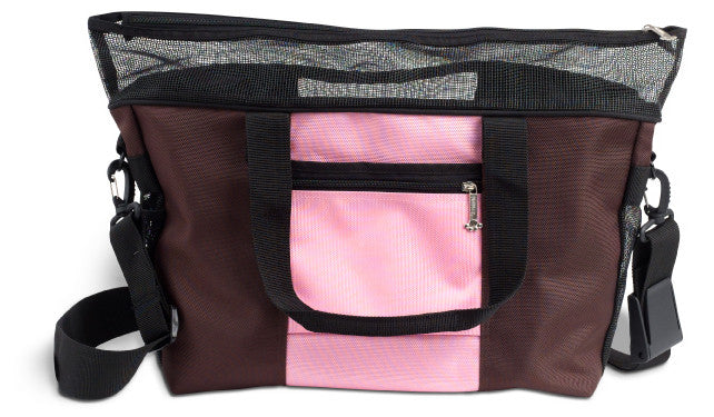 Pink Denier Messenger Dog Purse for Small Dogs