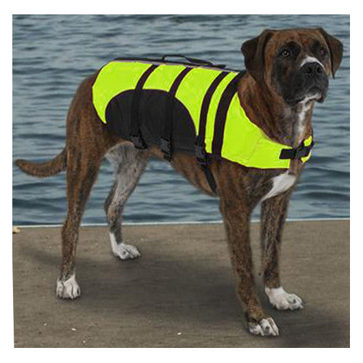 Guardian Gear Aquatic Dog Life Jacket in Yellow