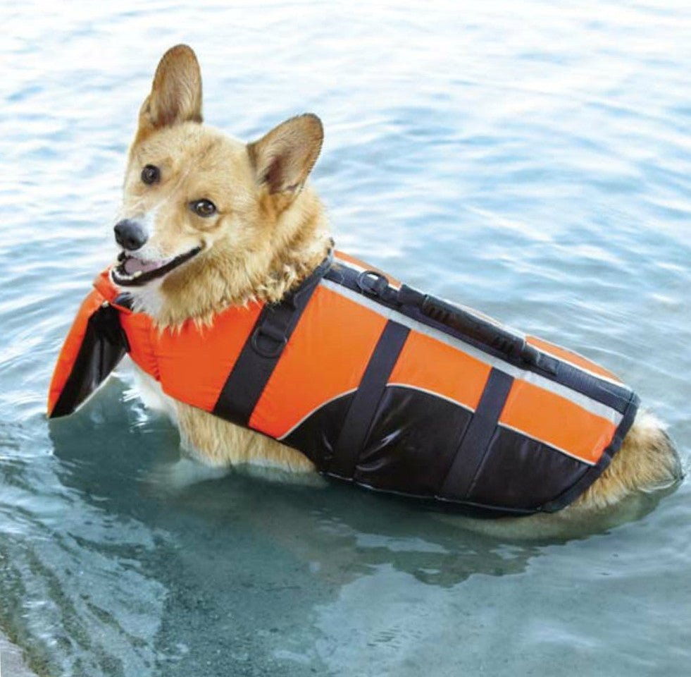 Deluxe Dog Life Jacket with Chin Support by Guardian Gear