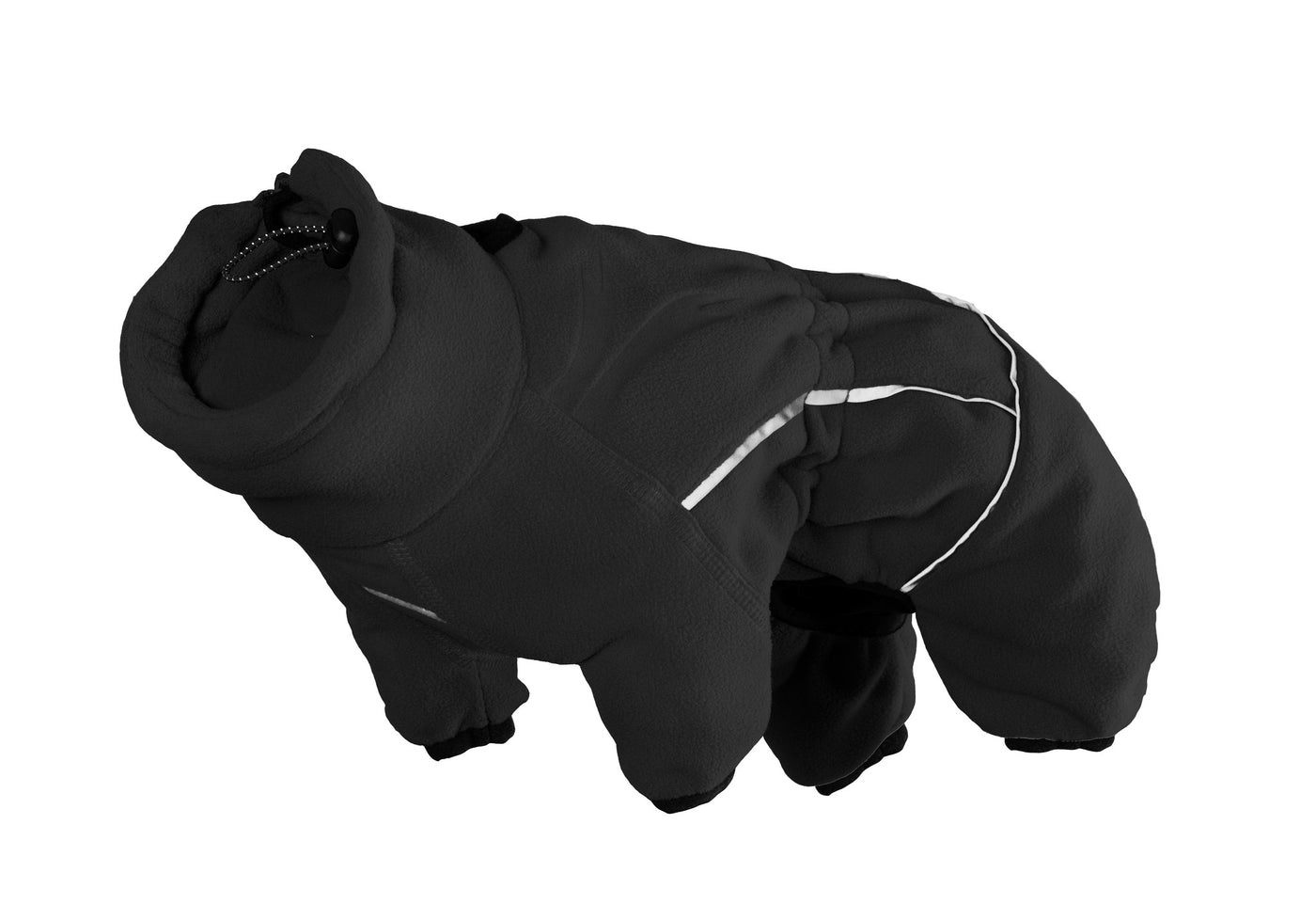 Full-Body Fleece Dog Coat Jumpsuit for Winter