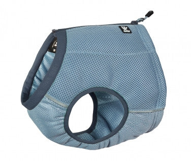 hurtta dog cooling vest in blue