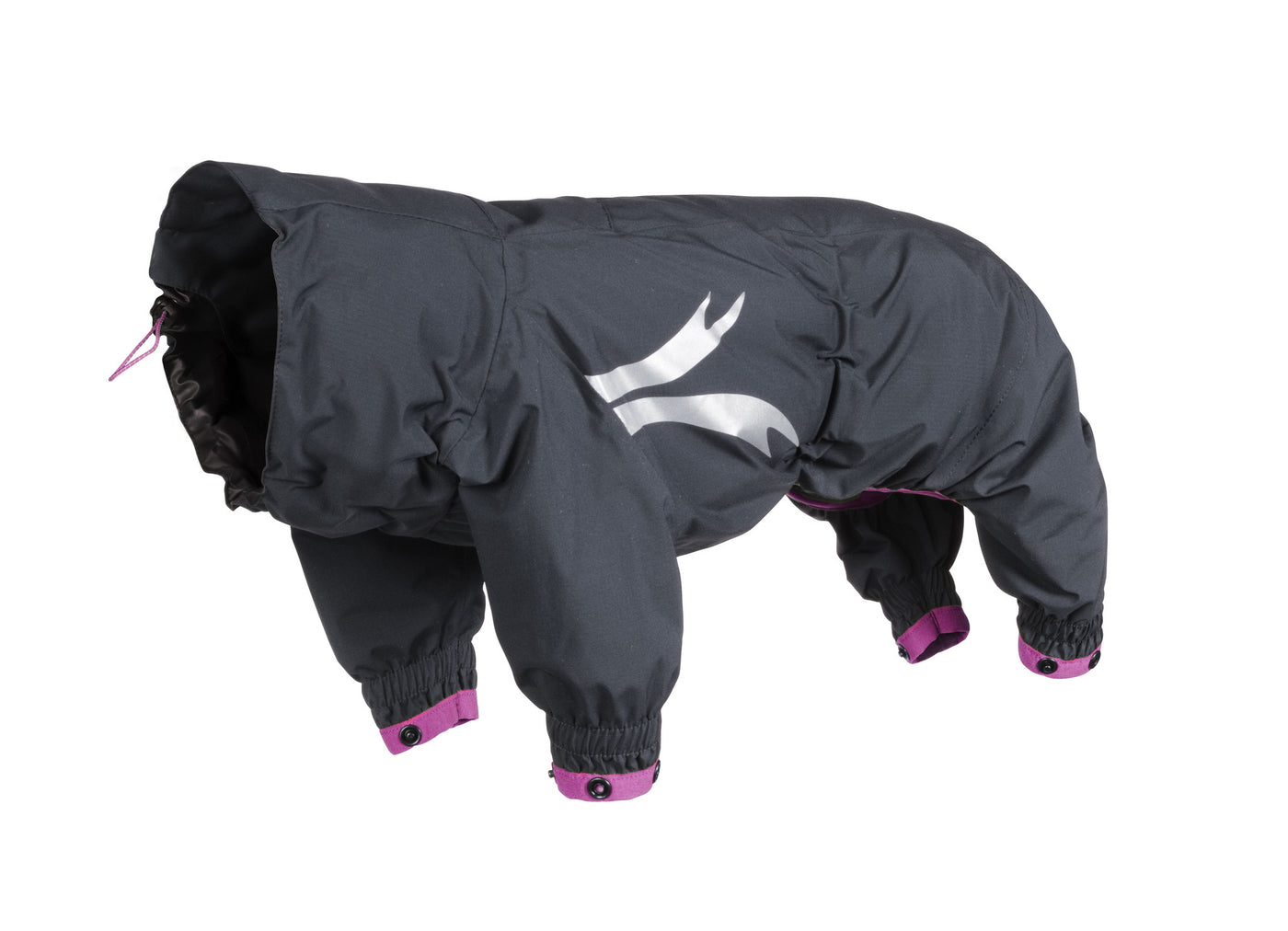 Slush Combat Suit Dog Rain Jacket & Raincoat by Hurtta
