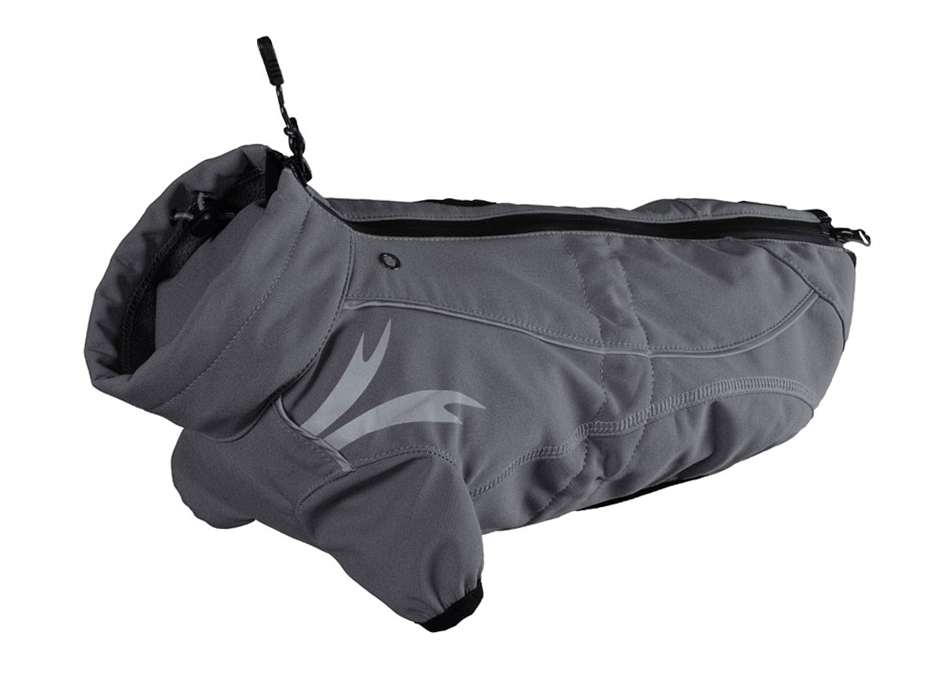 Hurtta Frost Dog Jacket in Gray