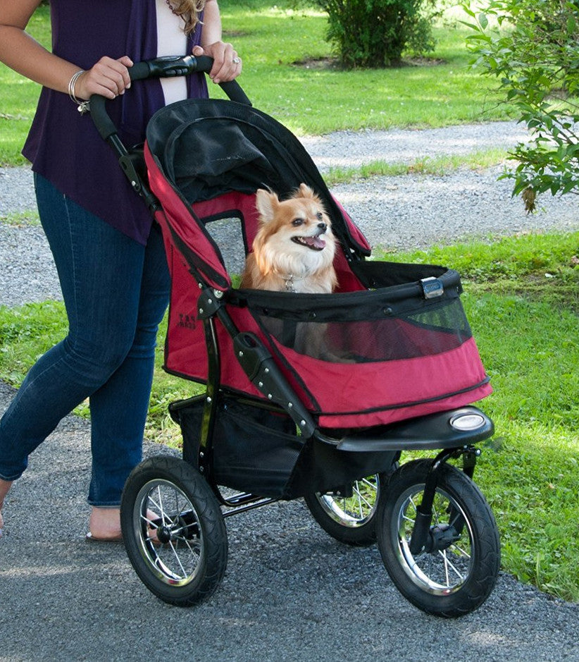 Pet Gear Jogger Dog Stroller in Rugged Red
