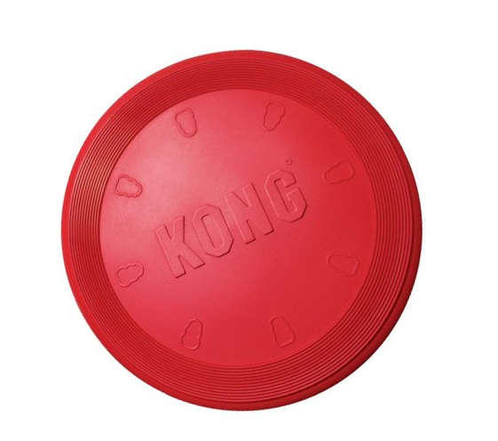 Rubber Kong Flyer Dog Frisbee