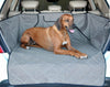 Dog on K&H Quilted Cargo Cover for SUVs