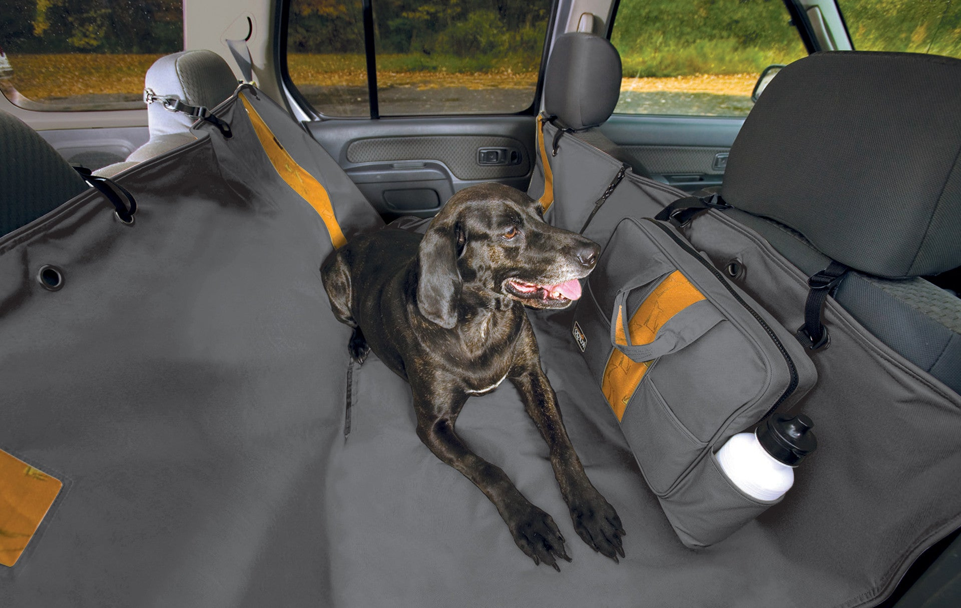 door cover dog wander seat pin kurgo left guard waterproof car and plus hammock