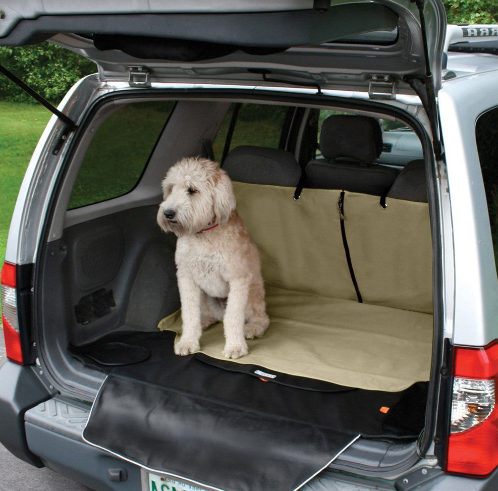 Kurgo SUV Cargo Cover for Dogs in Tan