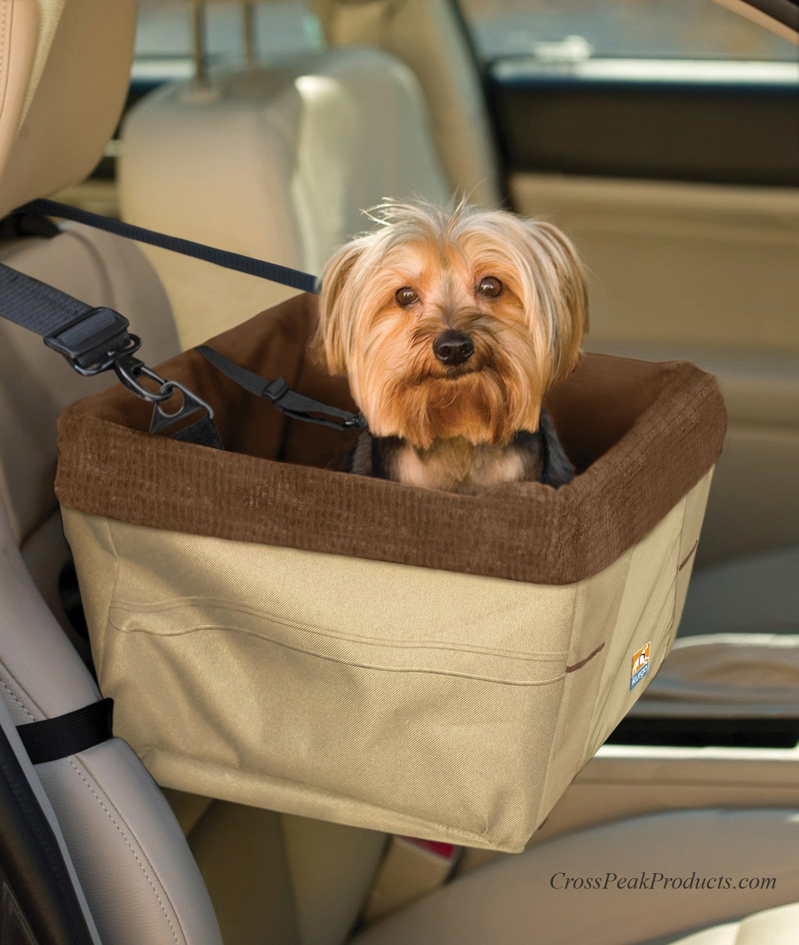 Kurgo Versatile SkyBox Dog Car Seat Carrier In One For Small Dogs And