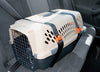 Turn Plastic Crate into Dog Car Seat with Kurgo Carrier Restraint Straps