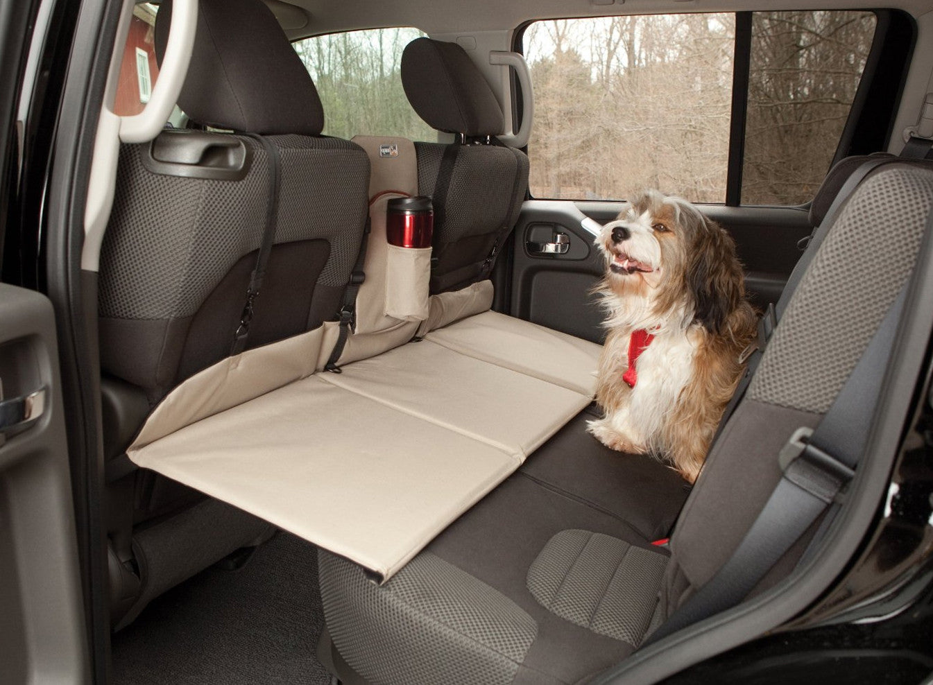 Kurgo Vehicle Rear Seat Extender Bridge for Dog Safety in Cars