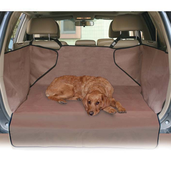 Tan K&H Pet Products Economy Cargo Cover for SUVs