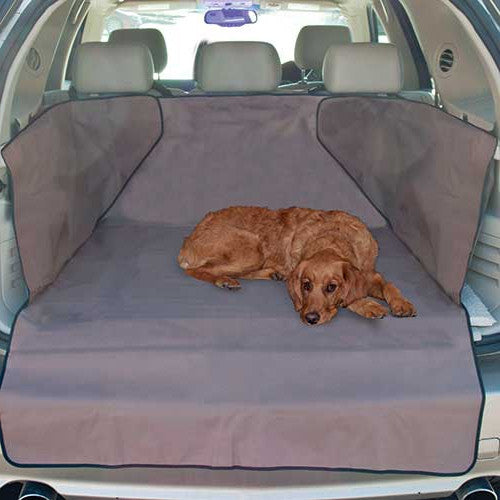 Gray K&H Pet Products SUV Economy Cargo Cover for Dogs