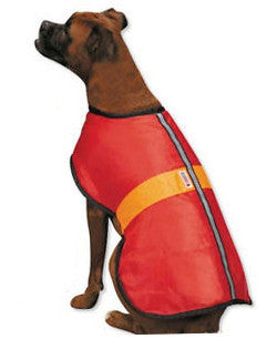 Kong Nor'easter dog coat in red