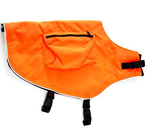 Mendota Blaze Orange Field Dog Vest & Jacket