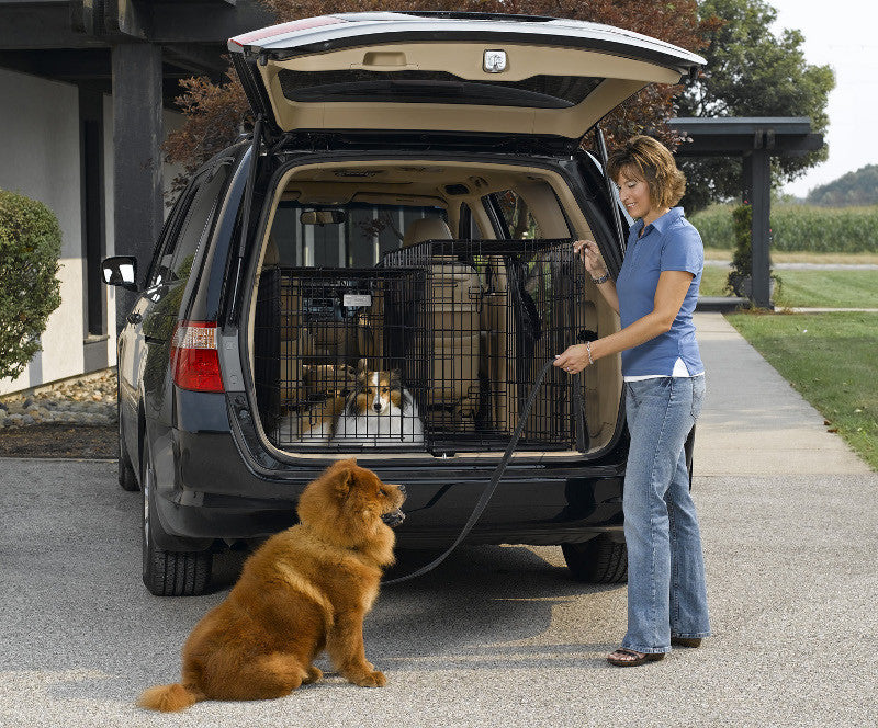 Midwest Side By Side Double Door Suv Dog Crate With