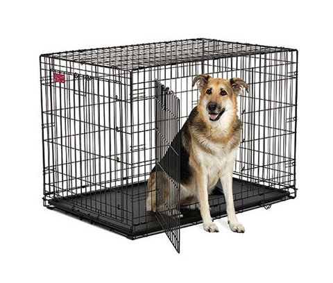 Midwest Ginormus Double Door Dog Crate Xl Solution Series Cross