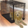 Dog In Midwest Wire Dog Crate with Ovation Single Up & Away Door Series