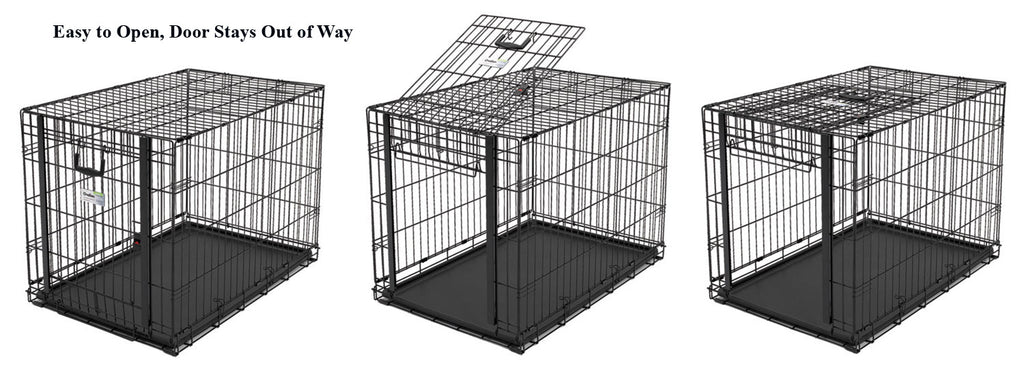 View of Ovation Door on Midwest Metal Dog Crate