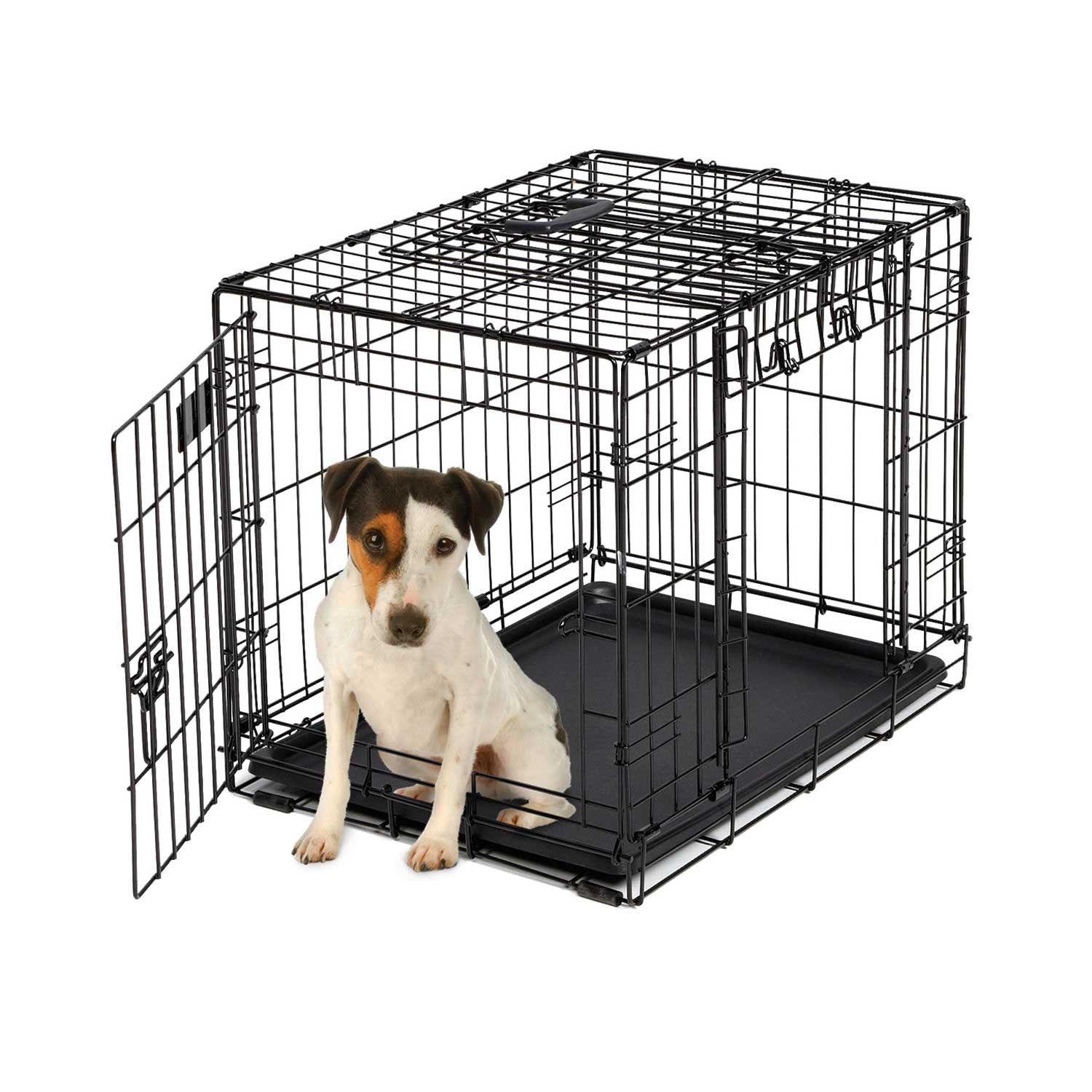 Midwest Ovation Double Door Wire Dog Crate - Trainer Up & Away ...