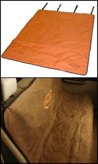 2 Barrel Utility Mat Dog Seat Cover by Mud River Dog Products
