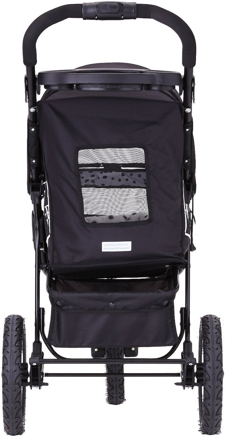 NV No Zip Jogging Pet Stroller by Pet Gear - Free Bolster Pad & Weather Cover Included
