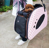 Dog Being Carried in PetZip Mochi Pet Carrier