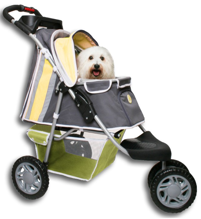 PetZip First Class Jogging Dog Stroller for Walking & Running Outdoors