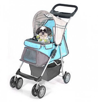 PetZip Sporty XL Dog Stroller for Walking, Jogging & Running