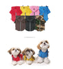Color Options of Puppia Dog Raincoat