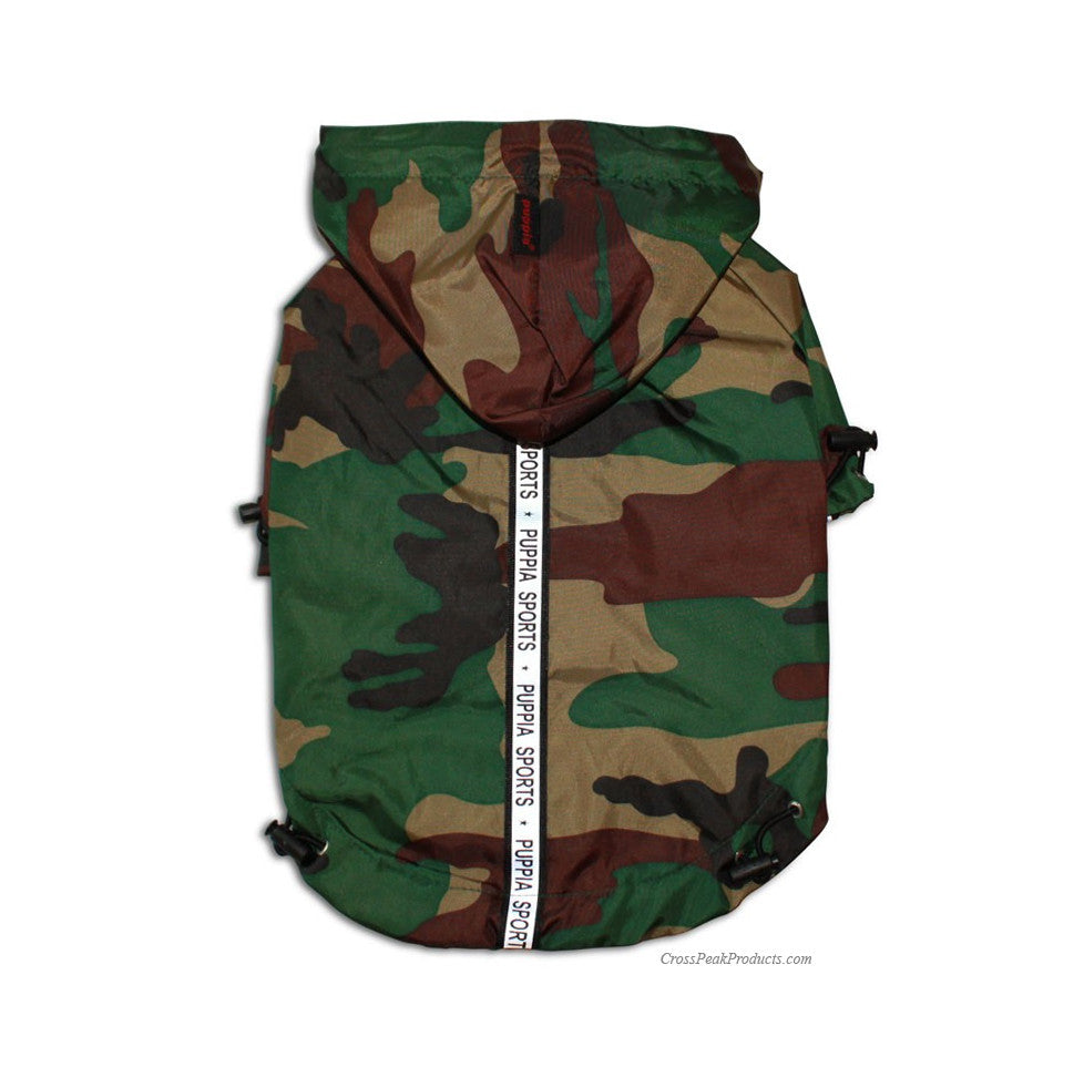 Camo Puppia Jumper Dog Rain Jacket