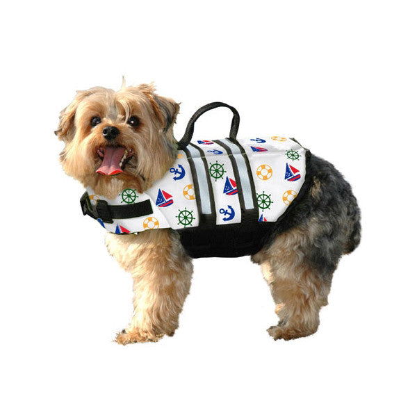 Paws Aboard Designer Nautical Dog Life Jacket