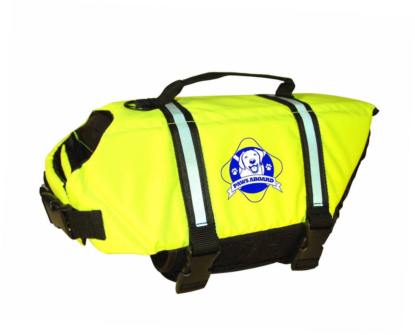 Paws Aboard Yellow Doggy Life Vest for Swimming or Boating