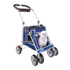 PetZip City Elite Buggy Dog Strollers in Blue
