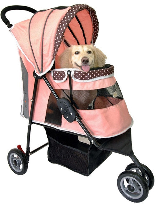 PetZip I-Cute Dog Jogging Stroller for Running with Dogs