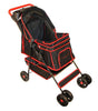 PetZip Walkie Dog Stroller in Black