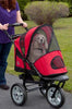 Red AT3 Generation 2 Pet Stroller for Walking, Jogging & Running with Dogs