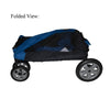 Pet Gear Expedition Folded View of Dog Stroller