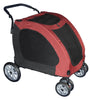Pet Gear Expedition Pet Stroller in Burgandy