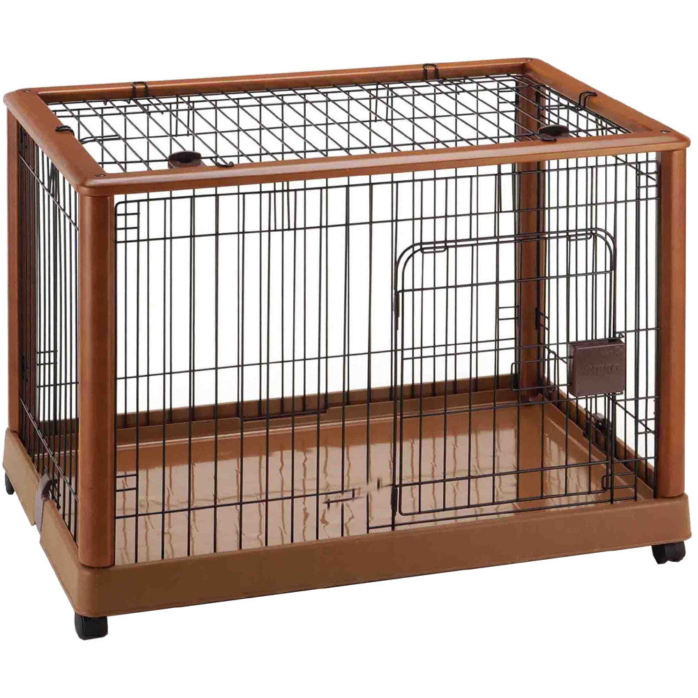 Richell Wood Mobile Pet Pen 940 or Wooden Dog Crates 640