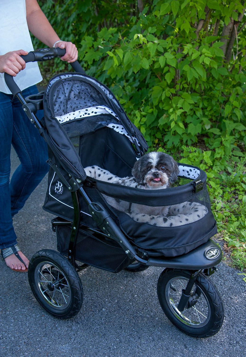 pet gear dalmatian dog stroller