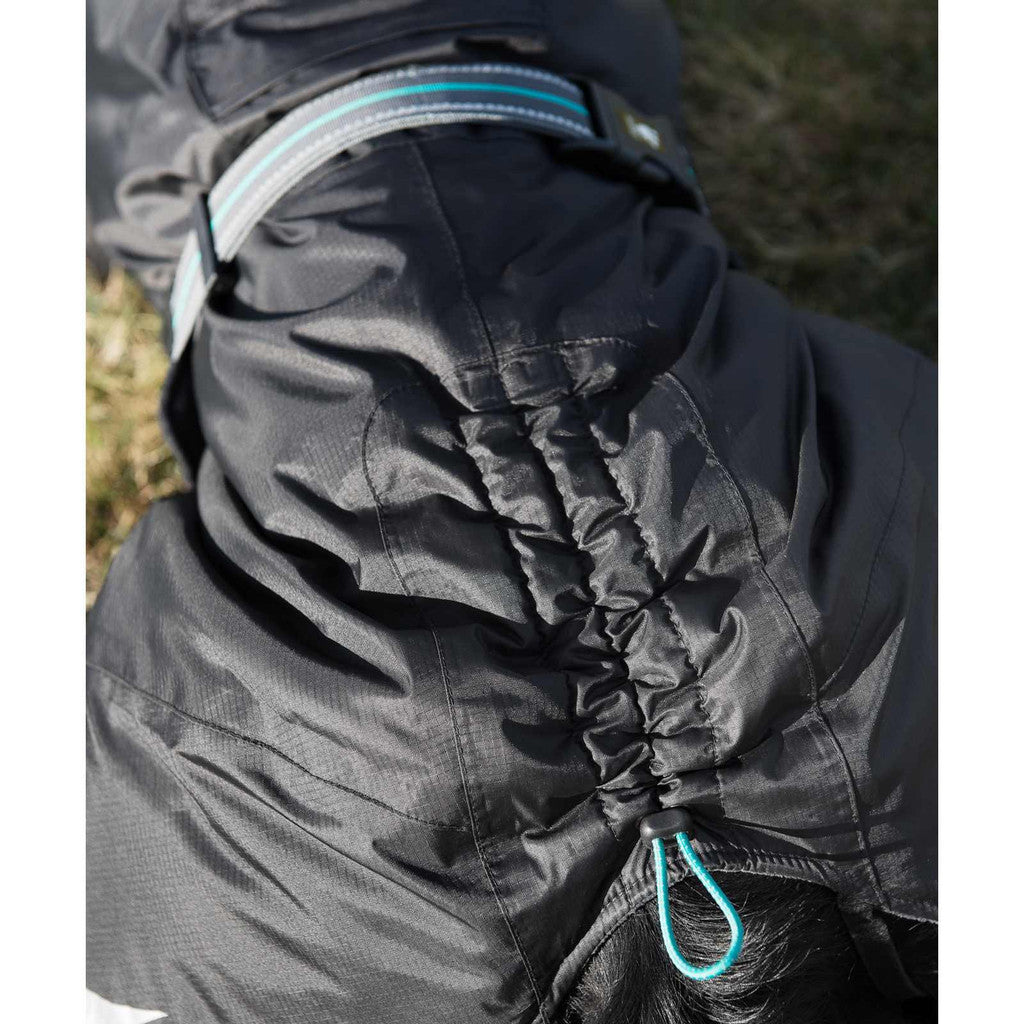 summit parka adjustable back on winter jacket