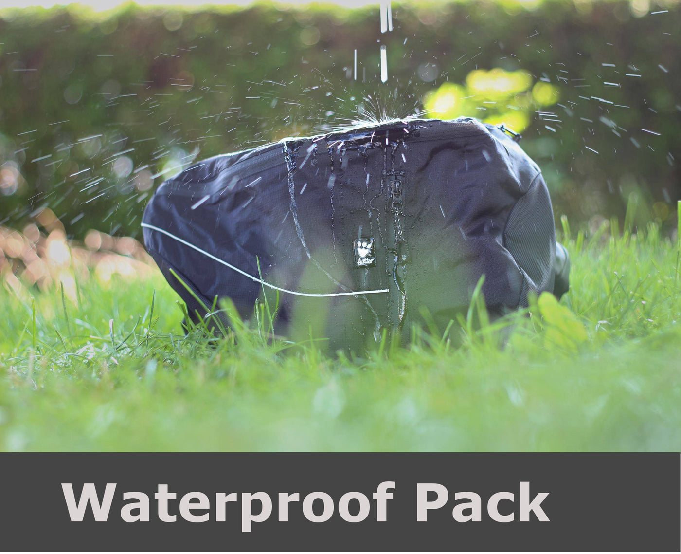 100% waterproof dog pack by Hurtta