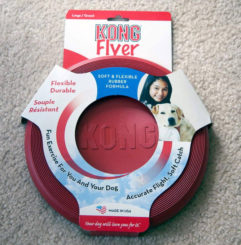 Kong Flyer Dog Toy Frisbee