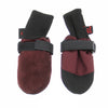 Muttluks Leather Dog Boots - Woof Walkers Booties in Burgundy