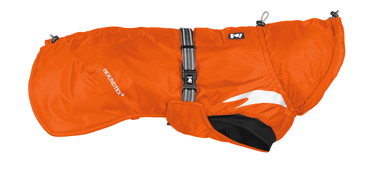 blaze orange winter dog coat